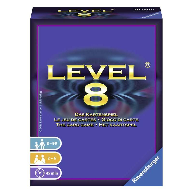 level 8 kaartspel