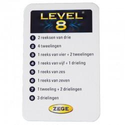 level 8 kaart