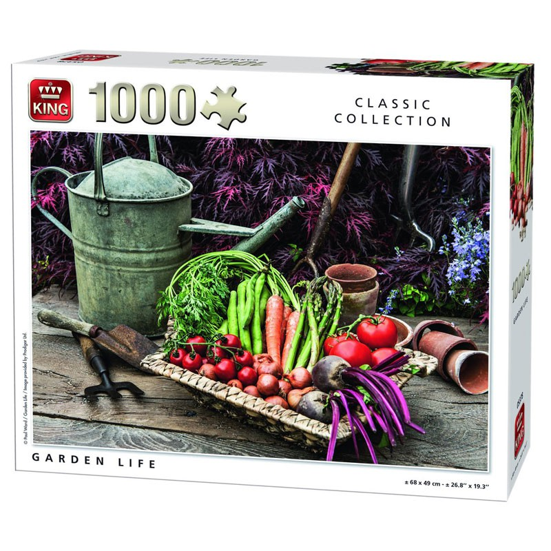 garden life puzzel